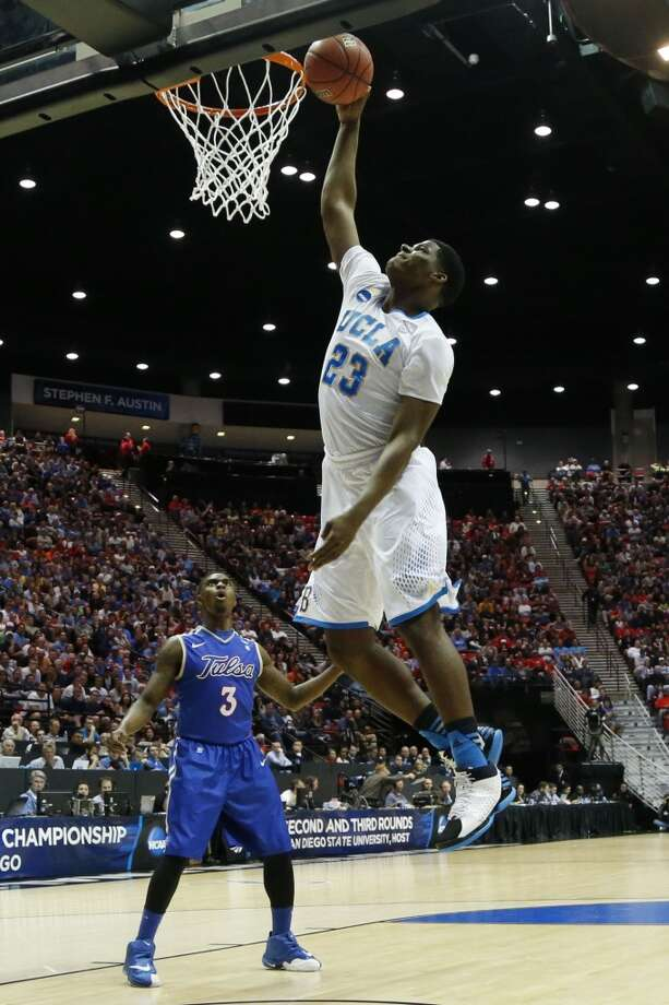 March 21: Second round  No. 4 UCLA 76, Tulsa 59 The Bruins add another victory to their storied history in the Big Dance. Photo: Lenny Ignelzi, Associated Press