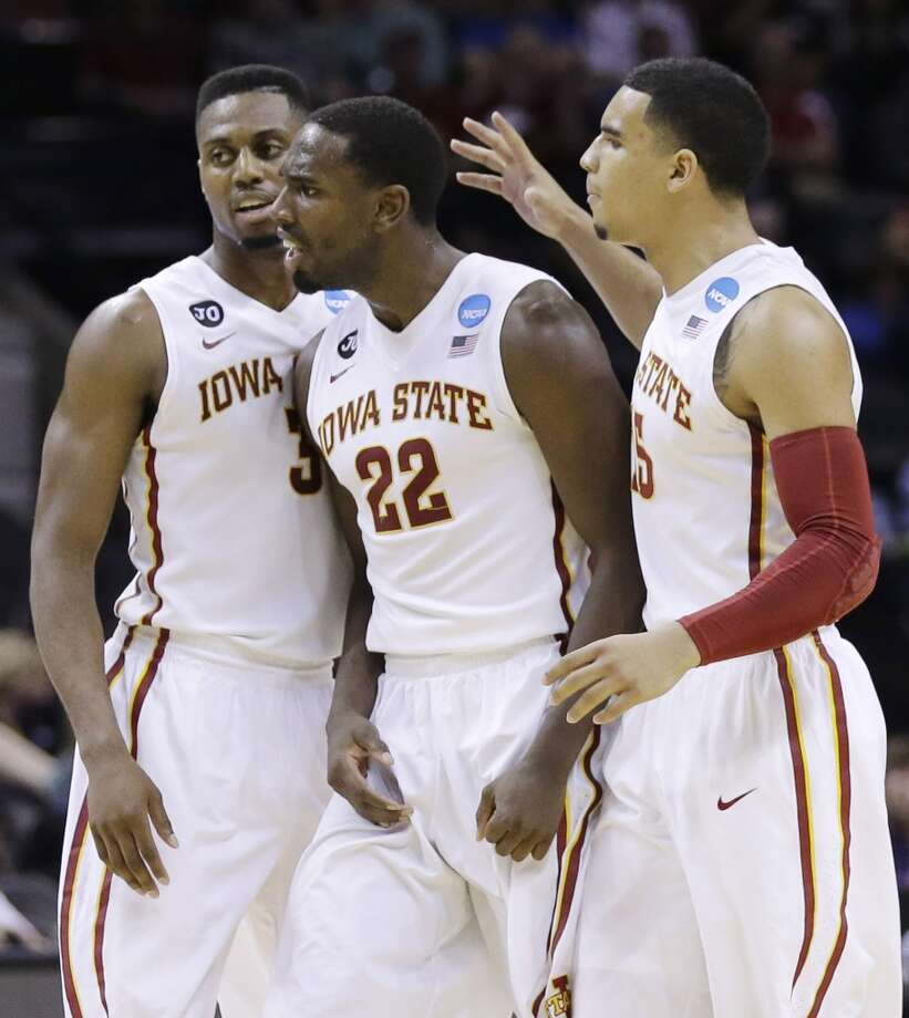 March 21: Second round  No. 3 Iowa State 93, North Carolina Central 75 The Cyclones advanced with ease. Photo: Eric Gay, Associated Press