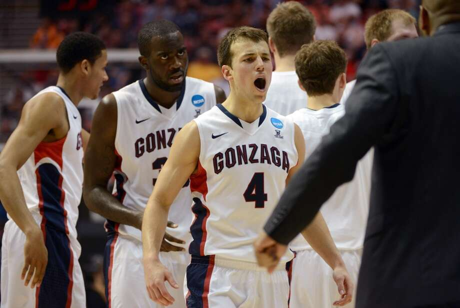 March 21: Second round No. 8 Gonzaga 85, Oklahoma State 77 The Bulldogs send the Cowboys to their fourth consecutive loss in the NCAA Tournament. Photo: Donald Mirralle, Getty Images