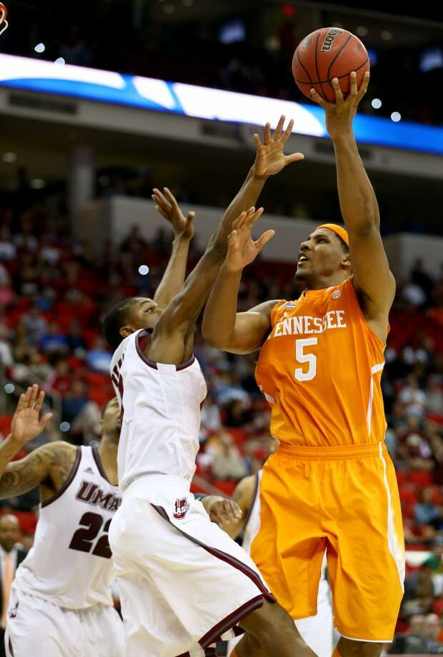 March 21: Second round  No. 11 Tennessee 86, No. 6 UMass 67 Jarnell Stokes poured in 26 points in the upset win. Photo: Streeter-lecka, Getty Images