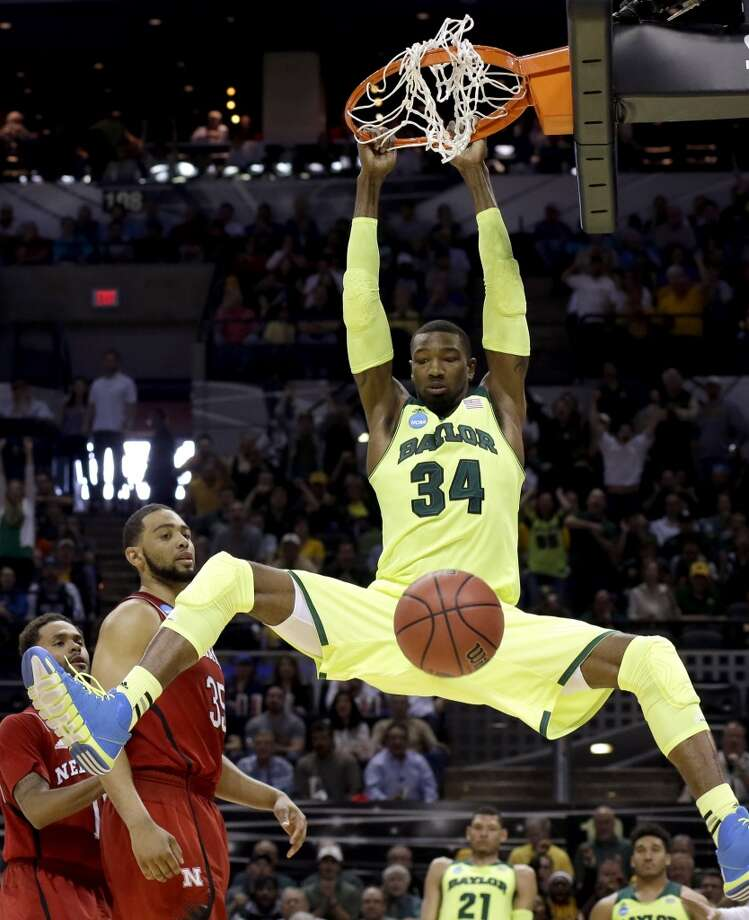 March 21: Second round  No. 6 Baylor 74, No. 11 Nebraska 60 Cory Jefferson throws one down. Photo: David J. Phillip, Associated Press