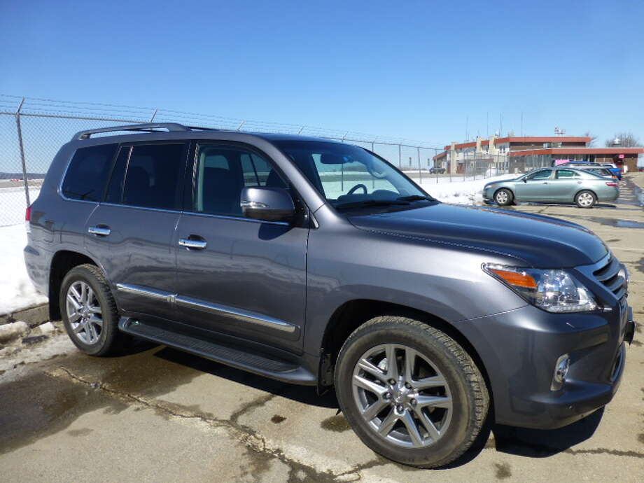 The 2014 Lexus LX 570 sport utility vehicle is, at $84,590, one of the most expensive SUVs out there, but you do get comfort and onroad/offroad gizmos for  your money.  (All photos by Michael Taylor)