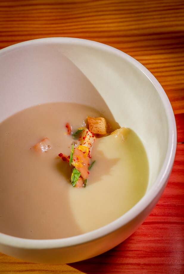 The Artichoke Soup at Torc in Napa. Photo: John Storey, Special To The Chronicle