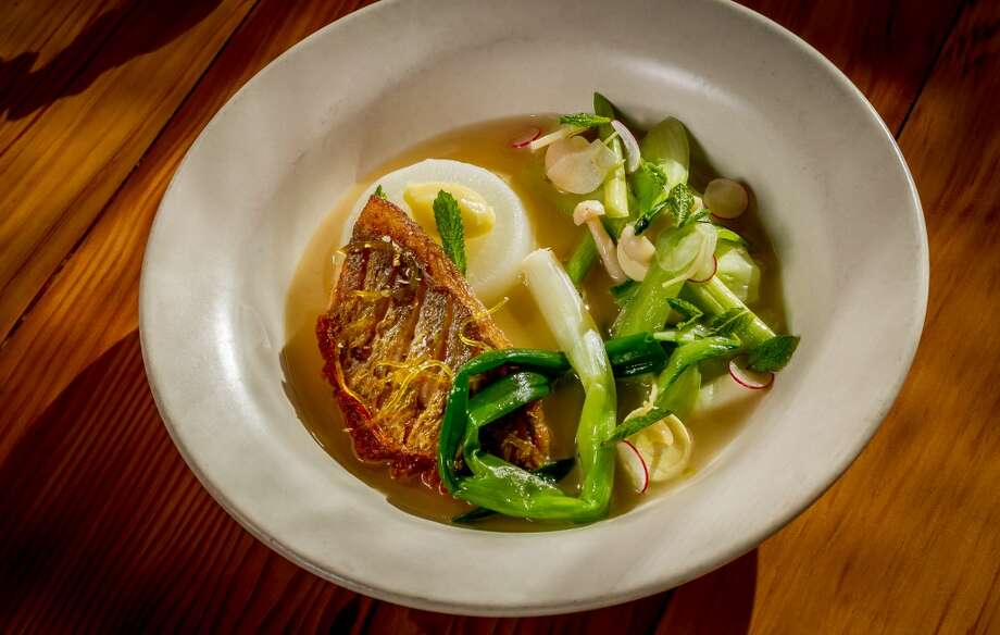 The tai snapper at Torc in Napa. Photo: John Storey, Special To The Chronicle