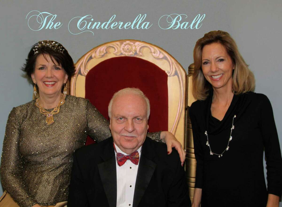 Looking forward to the Cinderella Ball are Honorary Chairs Diana and John Null and Child Advocates of Fort Bend executive director Ruthanne Mefford.