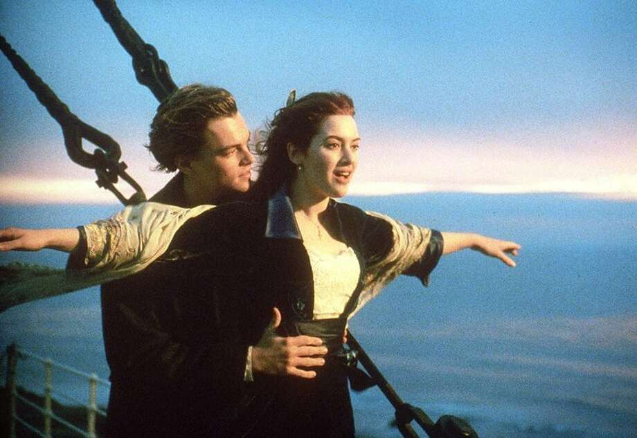 """Leonardo DiCaprio and Kate Winslet, """"Titanic."""" We love both of these actors. But, quite frankly, they weren't convincing as young kids who fall in love at the drop of a hat. Kate, in particular, seems too level-headed for that sort of thing. Photo: HANDOUT, AFP / ImageForum"""