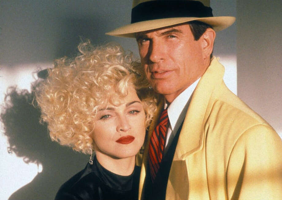 """Warren Beatty and Madonna, """"Dick Tracy"""" Two other people too wrapped up in themselves to be a good couple. And let's stop thinking singers can act, OK? Photo: Touchstone Pictures"""
