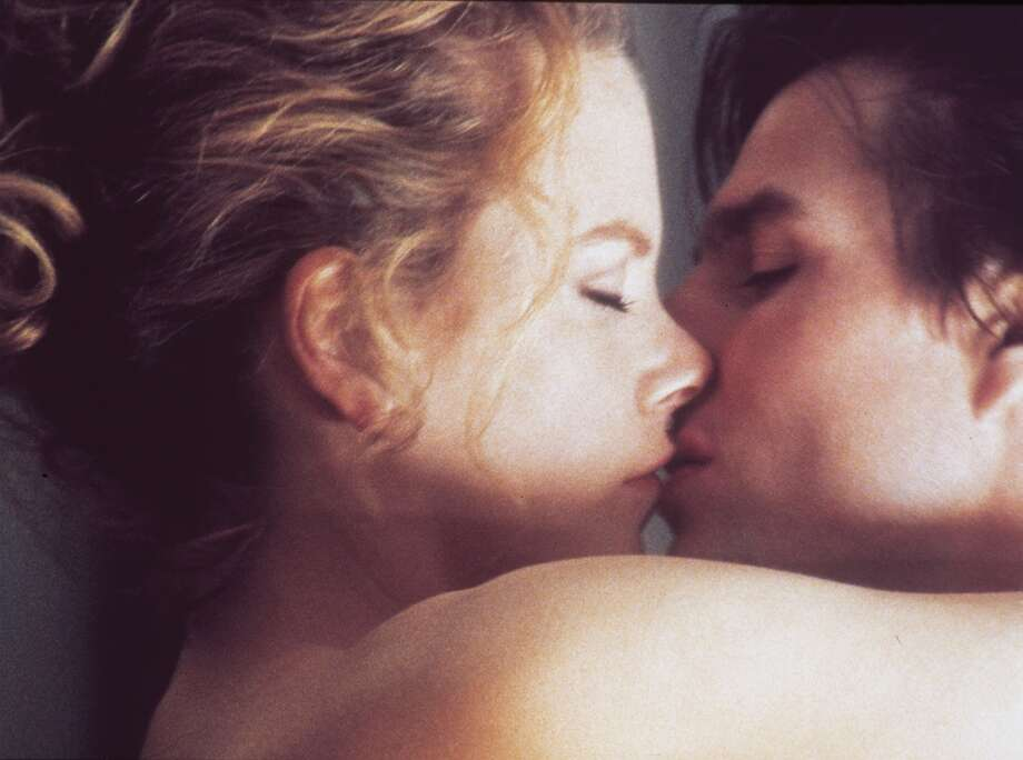 """Nicole Kidman and Tom Cruise, """"Eyes Wide Shut."""" Cruise again. The craziest thing about this bad onscreen couple is that they were actually married at the time. Guess we should have seen the divorce coming. Photo: WARNER BROS."""