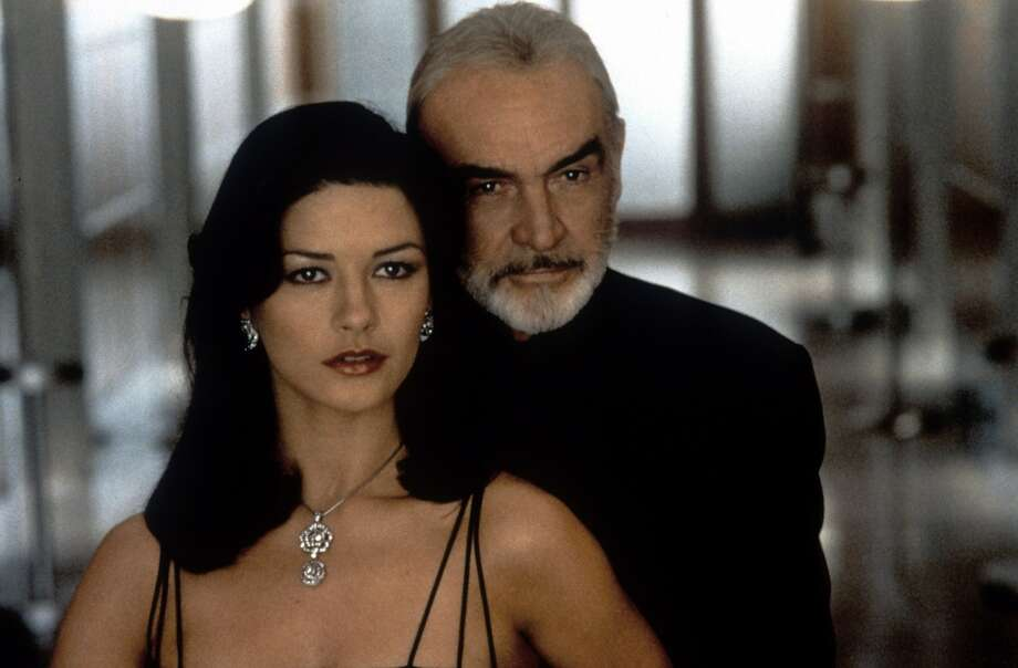 "Sean Connery and Catherine Zeta-Jones, ""Entrapment.""