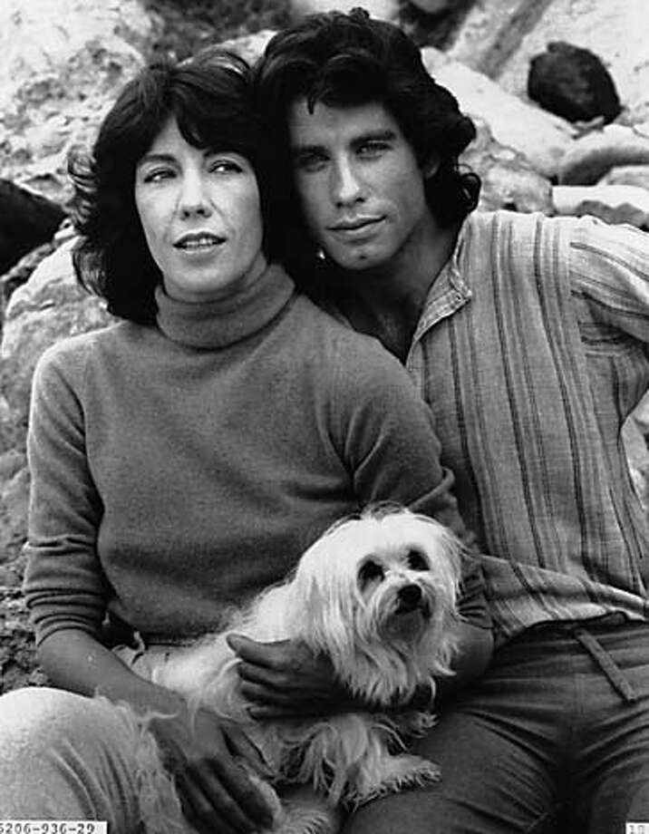 "Lily Tomlin and John Travolta, ""Moment by Moment.""