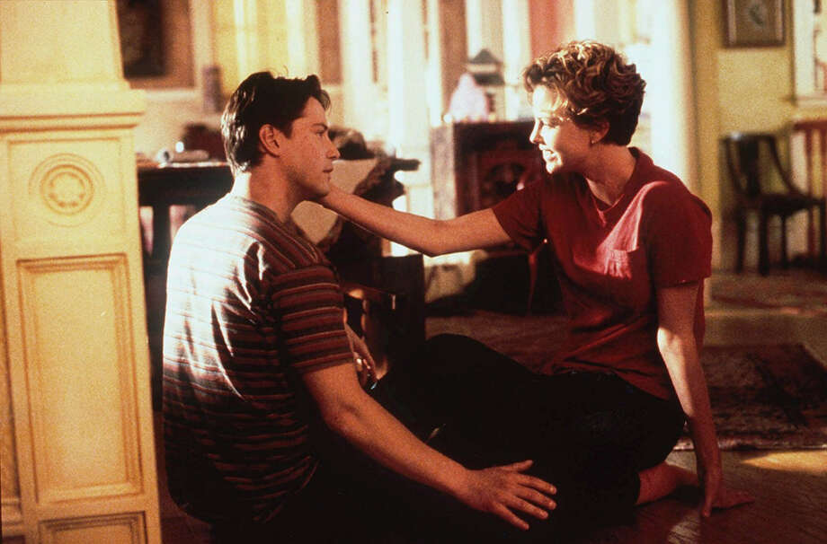 "Charlize Theron and Keanu Reeves, ""Sweet November.""