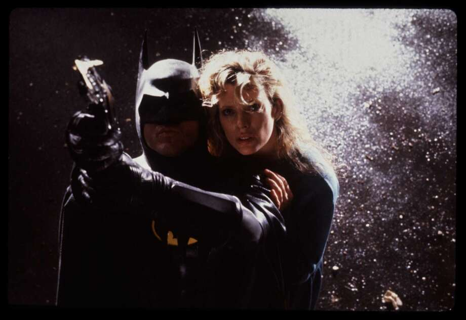 "Michael Keaton and Kim Basinger, ""Batman.""