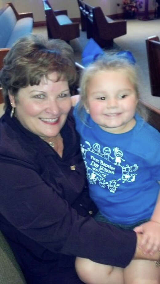 DeniseKelley permanently assigned as City Manager with grandaughter Bailey Photo by submission