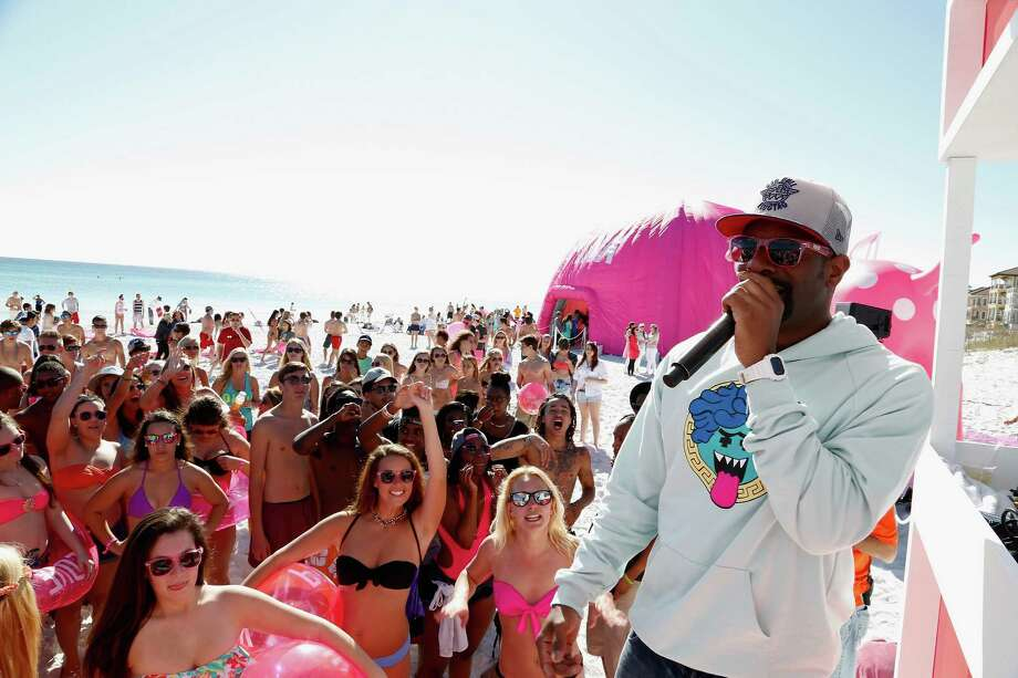 Irie at Victoria's Secret PINK Nation Spring Beach Party on March 13, 2014 in Destin, Florida. Photo: Don Juan Moore, Getty Images / 2014 Getty Images