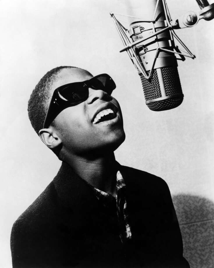 Stevie Wonder: Blind since shortly after birth, he signed to Motown's Tamla label when he was 11 years old, receiving a salary of $2.50 a week. He probably makes a bit more now. Photo: Echoes, Redferns