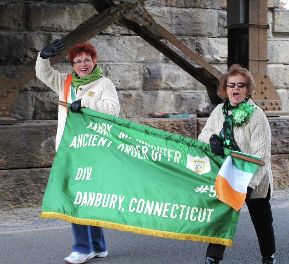 The 10th Annual Danbury St. Patrick's Day parade took place on Sunday,  March 23, 2014. It was presented by the Danbury Men's and Ladies Ancient  Order of Hibernians and the Greater Danbury Irish Cultural Center. Were  you SEEN? Photo: Wendy Mitchell