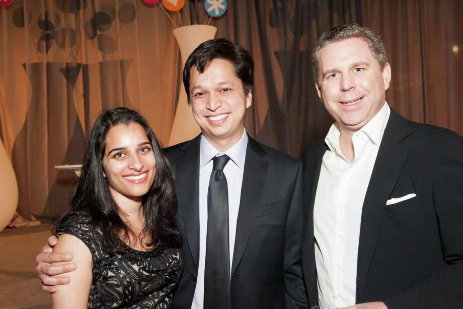 Divya Silbermann, Ben Silbermann and Rick Heitzman at the 2014 BUILD Gala on March 1, 2014. Photo: Susana Bates For Drew Altizer, Drew Altizer Photography / 2014 Drew Altizer Photography