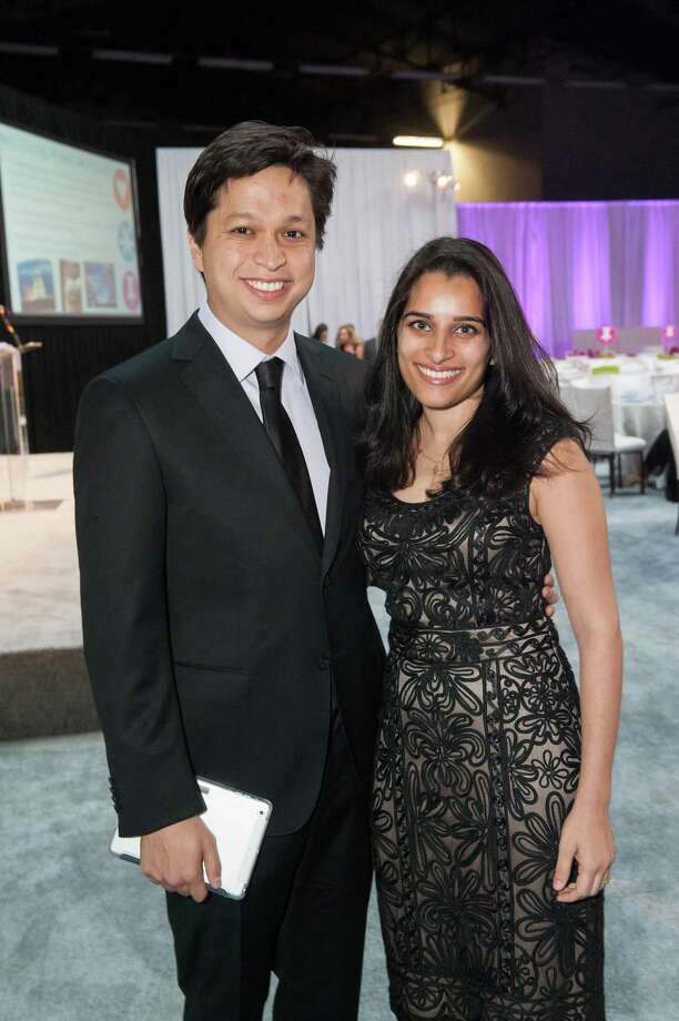 Ben Silbermann and Divya Silbermann at the 2014 BUILD Gala on March 1, 2014. Photo: Susana Bates For Drew Altizer, Drew Altizer Photography / 2014 Drew Altizer Photography