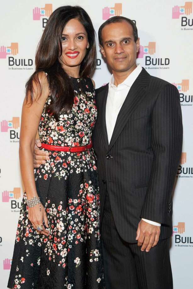 Komal Shah and Gaurav Garg at the 2014 BUILD Gala on March 1, 2014. Photo: Drew Altizer, Drew Altizer Photography