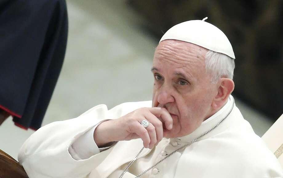 Pope Francis Photo: Remo Casilli, Reuters