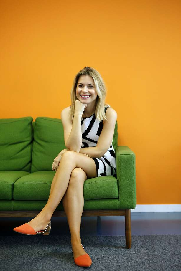Lona Duncan brings her fashion sense as a former model to her startup, StyleLend. Photo: Michael Short, The Chronicle