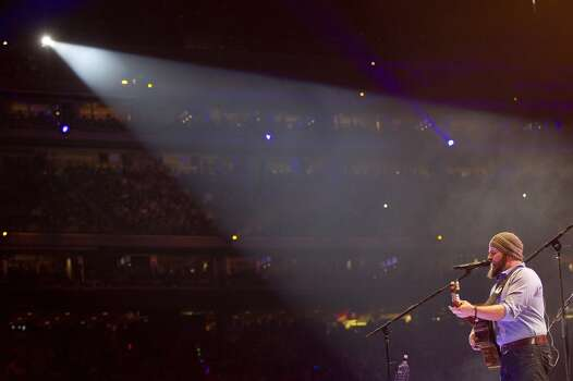 The Zac Brown Band, March 23    Brown is a thoughtful, affecting vocalist. He has a cool, calm energy that grounds every song. Photo: Johnny Hanson/Houston Chronicle