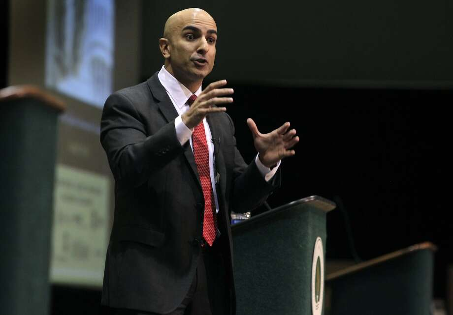 Republican Neel Kashkari announces his candidacy for governor in January. Photo: Paul Chinn, The Chronicle