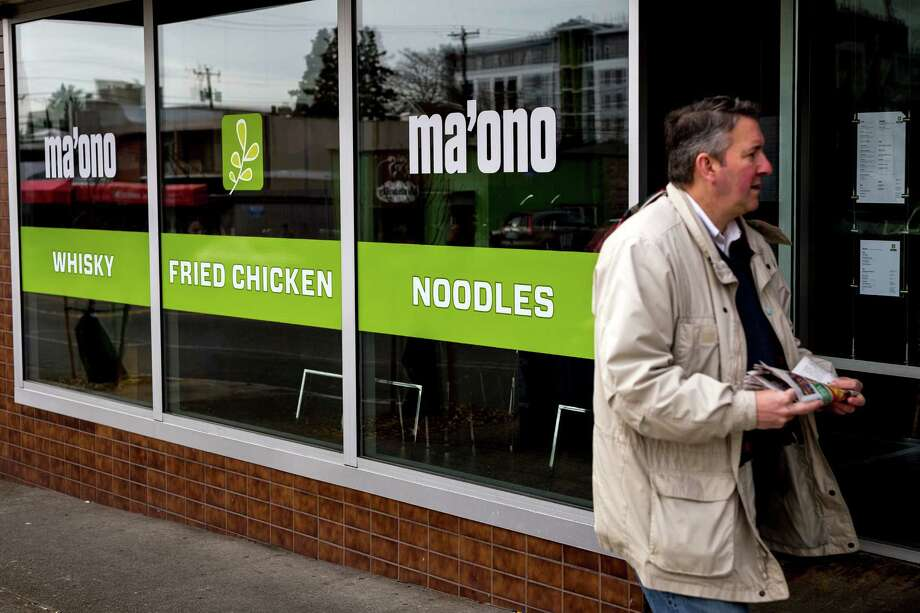 Ma'ono, 4437 California Ave. SW, West Seattle: Though it bills itself as specializing in fried chicken and whiskey, Ma'ono serves up brunch, too (or maybe that's your brunch). Order up a brunch ox tail soup to go with your bottomless mimosa. Photo: JORDAN STEAD, SEATTLEPI.COM / SEATTLEPI.COM