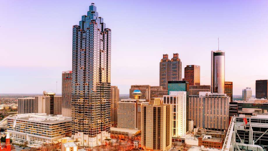 Atlanta-Sandy   Springs-Marietta. Average work week: 34.7 hours.  Photo: Photography By Steve Kelley Aka Mudpig, Getty Images / Flickr RF
