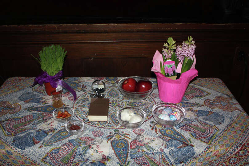 Local Baha'is celebrate Naw-Ruz, the new year, at a ceremony at the Emma Willard  School in Troy on