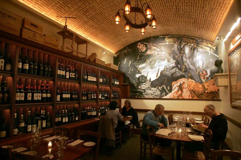 The Dante Room. Photo: Liz Hafalia, The Chronicle