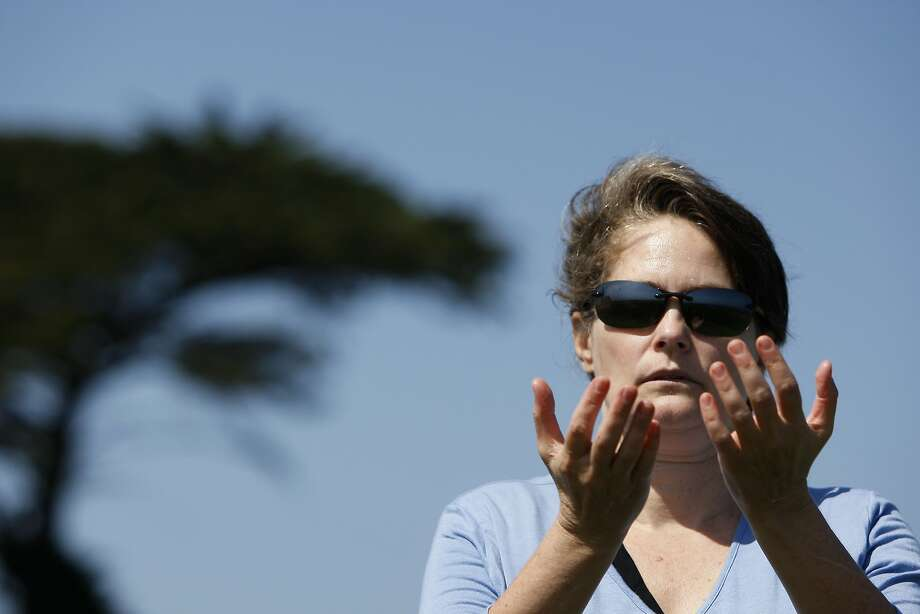 Lisa Geiszler, shown exercising in Santa Cruz, says she noticed improvements in her chronic fatigue after she took Ritalin and a nutrient supplement. Photo: Codi Mills, The Chronicle