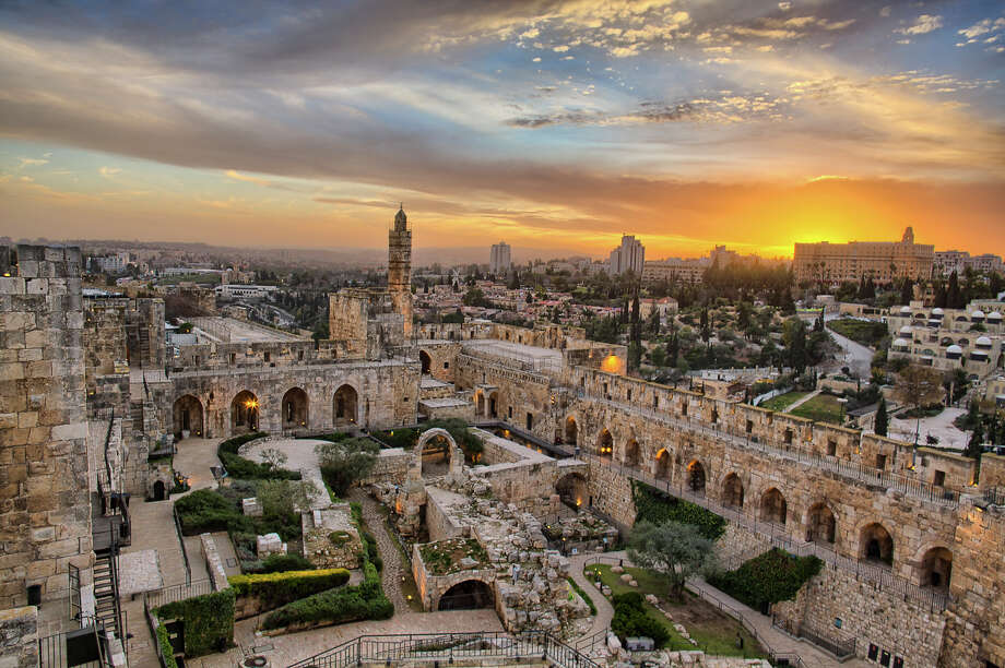 Film director Daniel Ferguson's documentary story of Jerusalem is featured at Houston Museum of Natural Science. The film explores Jerusalem through the eyes of three teen girls - a Christian, a Jew and a Muslim. Photo: George Duffield / Jerusalem 3D US LP