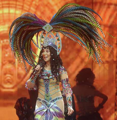 Cher sparkles as she takes the stage at Toyota Center during her D2K Tour. Photo: Dave Rossman, Freelance / Freelance