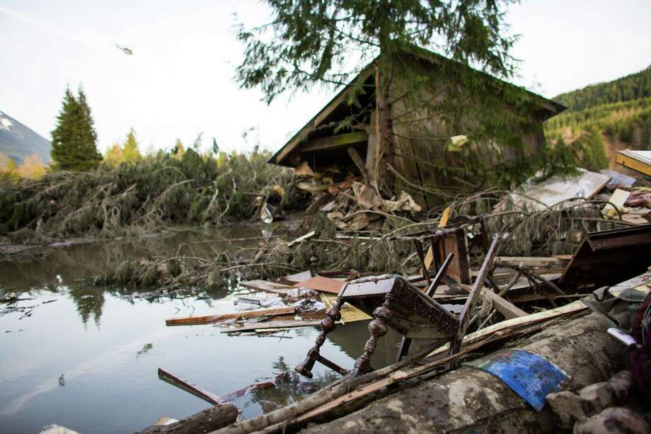 The wreckage of homes and lives destroyed by a mudslide near Oso, Wash is shown. Photo: JOSHUA TRUJILLO, SEATTLEPI.COM / SEATTLEPI.COM