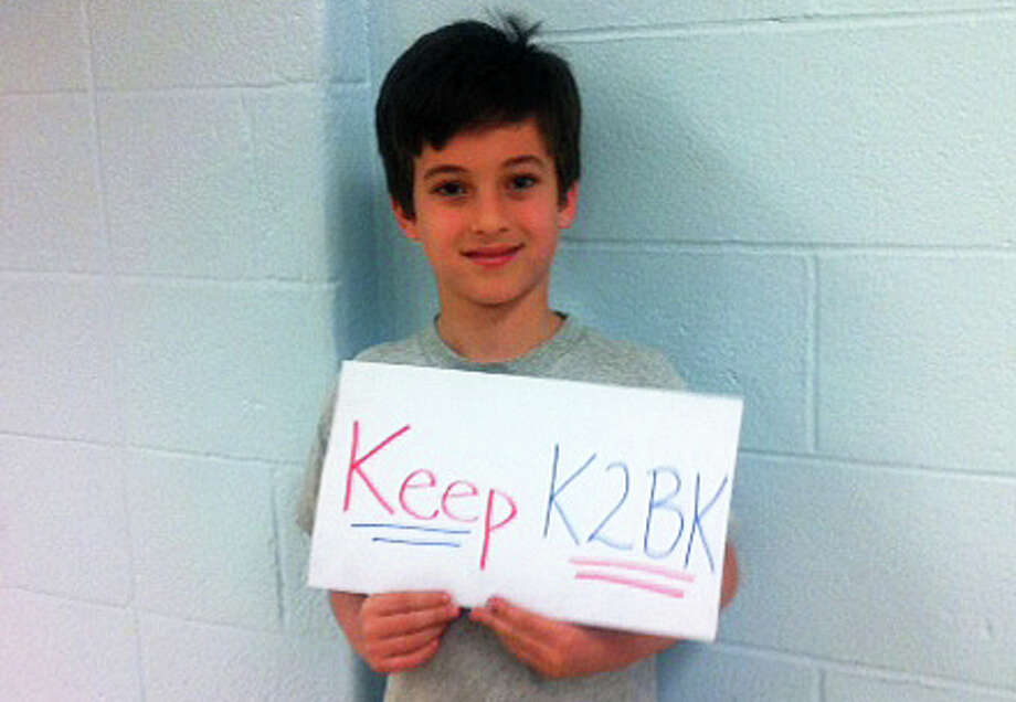 Jack Gross, an 8-year-old Long Lots Elementary School student, was among those urging the Board of Education on Monday not to eliminate the Kool to be Kind program. Photo: Anne Amato / Westport News