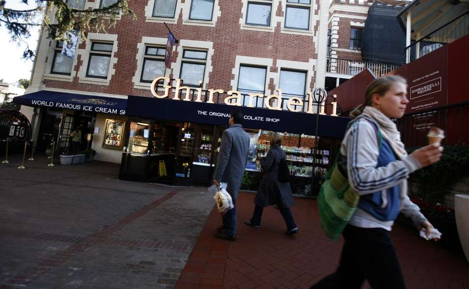 Ghirardelli SquareNamed after ... Photo: Kim Komenich, The Chronicle