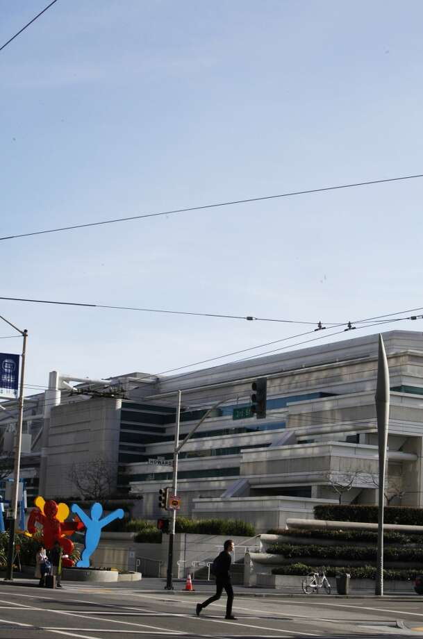 Moscone Center    Named after ... Photo: Pete Kiehart, The Chronicle