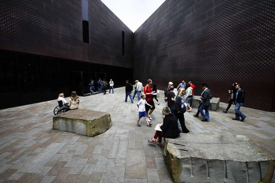 The de Young Museum    Named after ... Photo: Sonja Och, The Chronicle