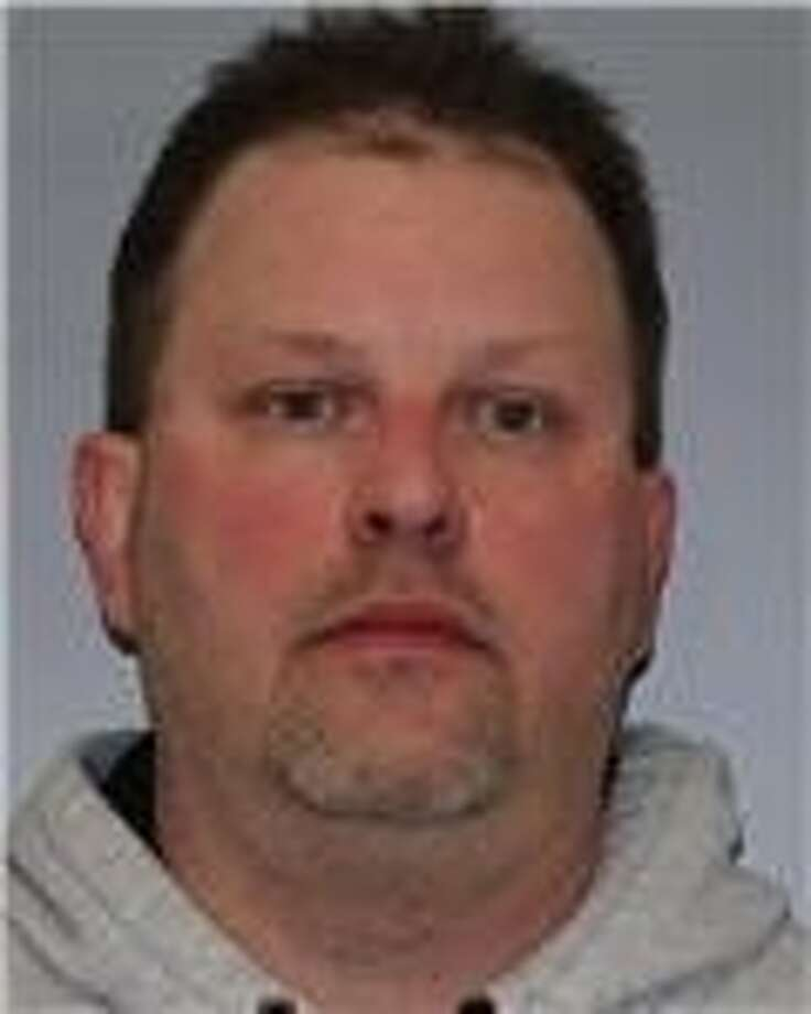 Richard T. Wilson, 46, of 90 Wright Road, Cambridge, was charged with third-degree arson on Monday, March 24, 2014, after State Police said he started a fire at his home. (State Police)