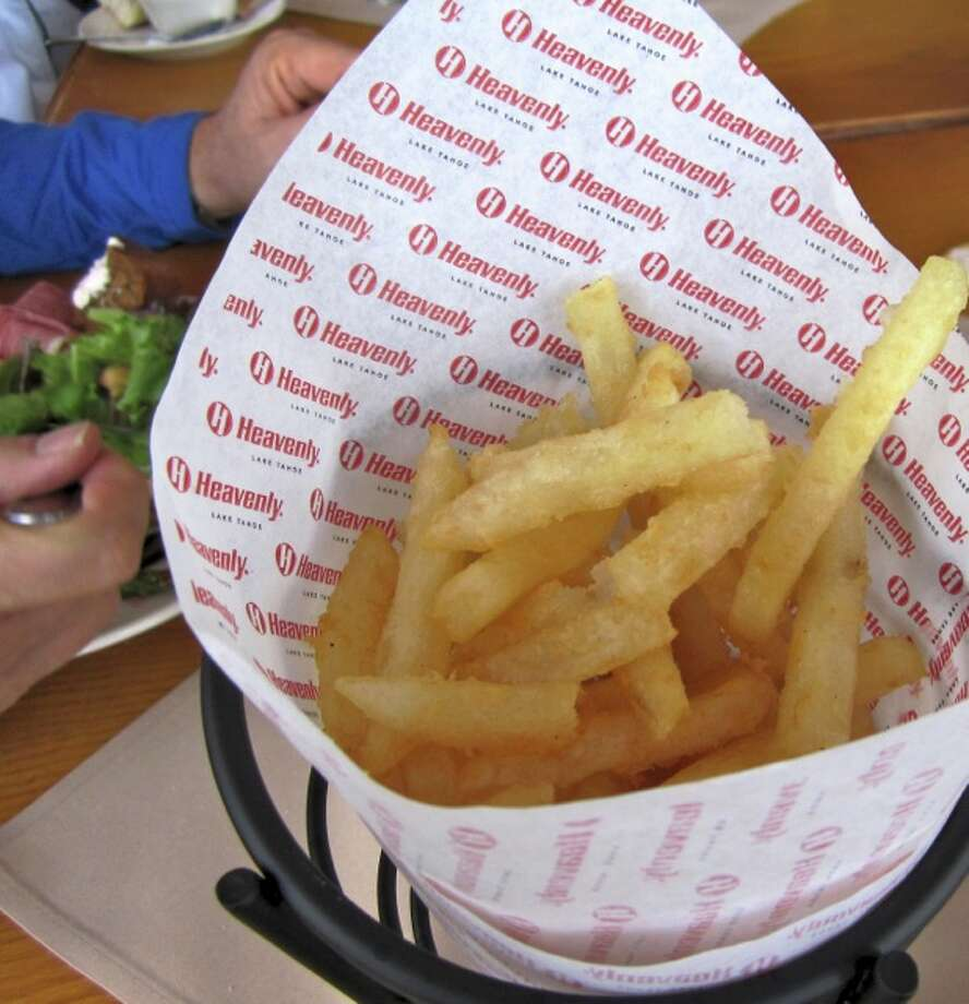 Heavenly fries Photo: Jules