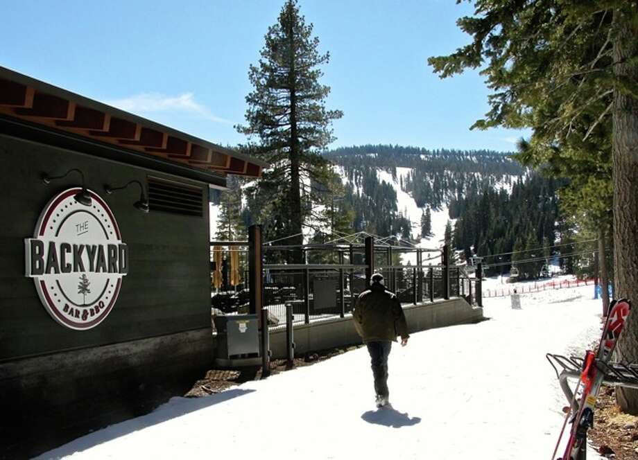 Backyard BBQ at the Ritz... at Northstar Photo: Effin Older