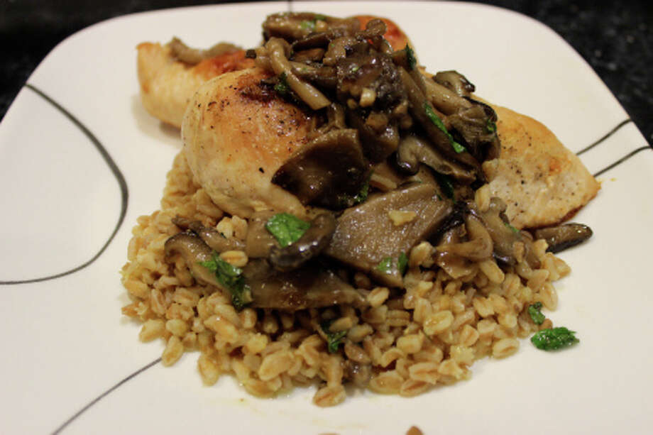 Our food writer, Jenn Press Arata, provides a healthy way to make a classic dish, chicken Marsala. Photo: Contributed Photo, Contributed / New Canaan News Contributed