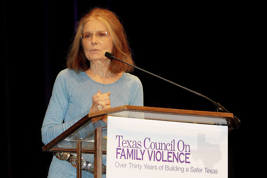 Gloria Steinem speaks during the Texas Council On Family Violence at the AT&T Conference Center on September 5, 2012 in Austin, Texas. Photo: Gary Miller, Getty Images / 2012 Gary Miller