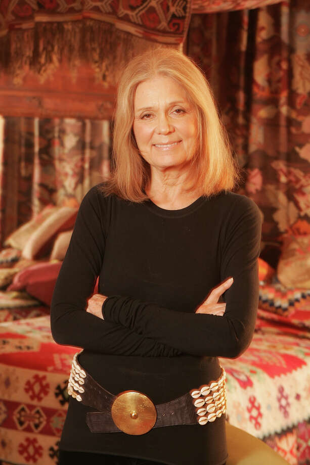 Gloria Steinem poses for a portrait on January 21, 2005 in New York City. Photo: Todd Plitt, Getty Images / 2005 Getty Images