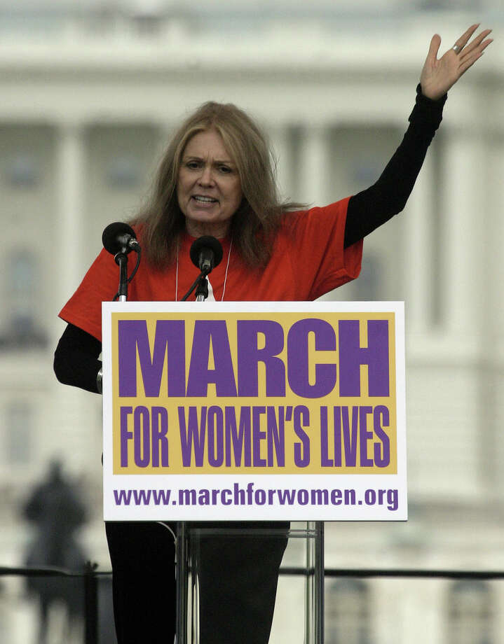 Activists gather in the hundreds of thousands to march for women's rights in what may be the largest rally ever, 2004. Photo: The Washington Post, Getty Images / The Washington Post