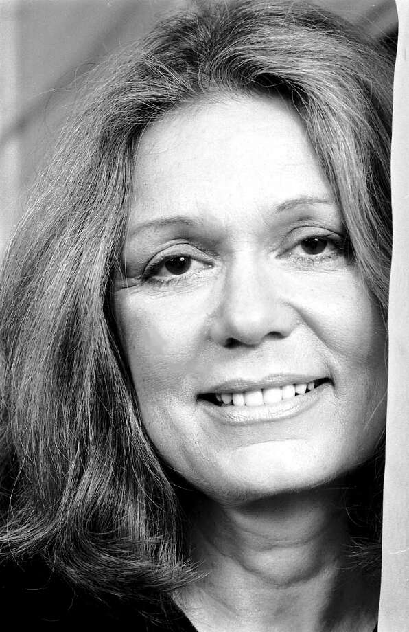 American feminist writer Gloria Steinem in her Manhattan apartment, New York City, March 1992. Photo: Michael Brennan, Getty Images / 2012 Michael Brennan