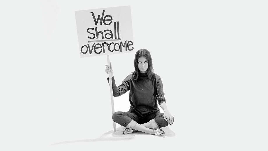 "From the early days of the movement to the founding of ""Ms."" magazine in 1972, to her Presidential Medal of Freedom in 2013, here is a look at journalist and activist Gloria Steinem, seen here in 1965. Photo: Yale Joel, Getty Images / Time Life Pictures"