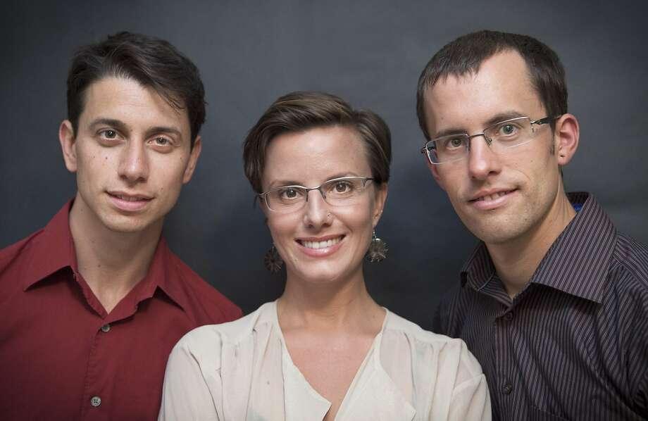 Shane Bauer, Sarah Shourd and Joshua Fattal Photo: Mia Nakano