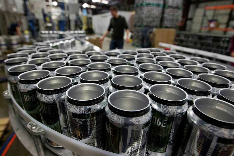 And what do all these jobs require at the end of the day? Cans of your favorite beverage to wash away the working day. Someone's got to make the cans, wrote one reader.  Photo: J. Patric Schneider, Freelance / © 2014 Houston Chronicle